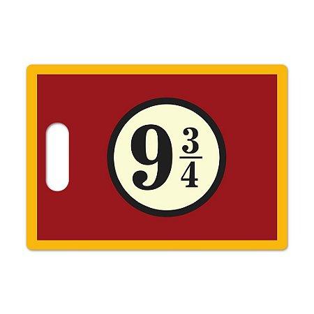 Tábua de Carne de Vidro 35x25cm 9 3/4 Vermelha - Beek