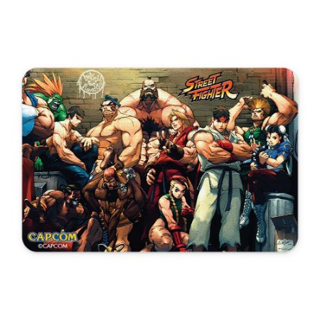 Tapete 60x40 Street Fighter - Personagens