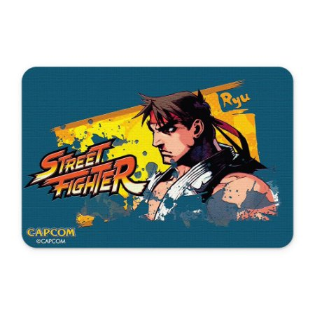 Tapete 60x40 Street Fighter - Ryu Azul