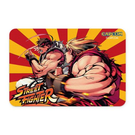 Tapete 60x40 Street Fighter - Ryu VS Ken