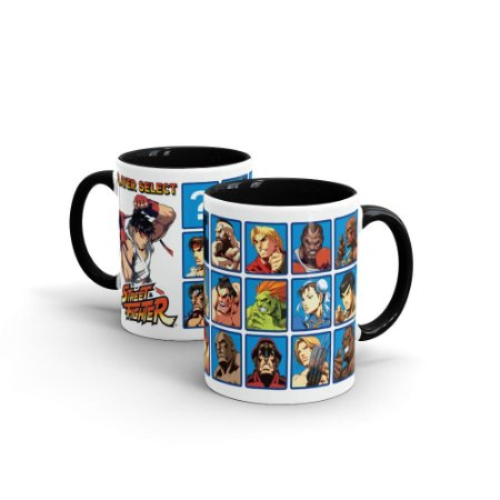 Caneca STREET FIGHTER Player Select - Beek