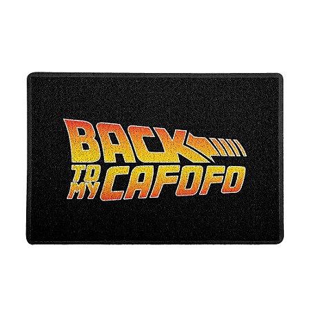 Capacho 60x40cm Back to my Cafofo COR - Beek