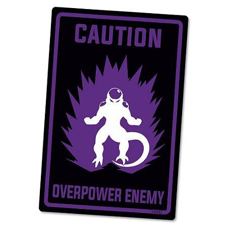 Placa Decorativa 24x16 Overpower Enemy - Beek