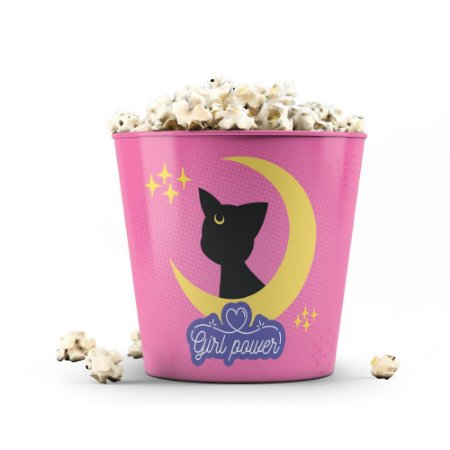 Balde de Pipoca 3,5 litros Girl Power Cat - Beek