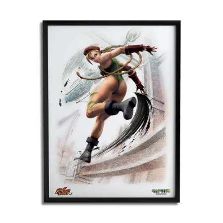 Quadro Decorativo Street Fighter Cammy - Beek
