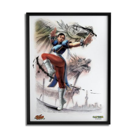 Quadro Decorativo Street Fighter Chun-Li - Beek