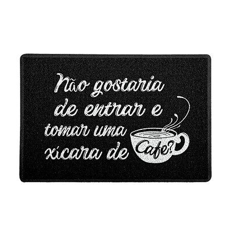 Capacho 60x40cm Xícara de Café - Beek