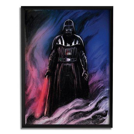 Quadro Decorativo Darth Vader By Baal's - Beek