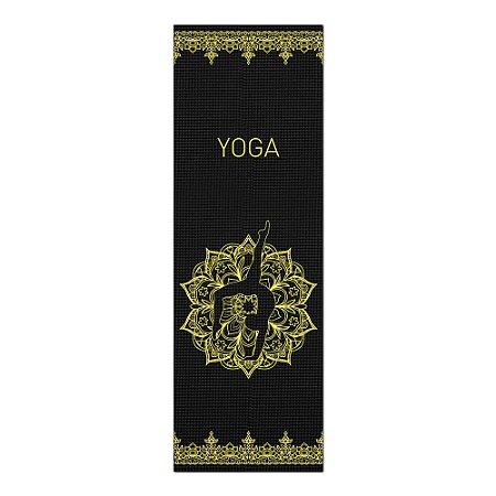 Tapete De Yoga / Ioga Com 1,80x0,60m Preto - HANDSTAND