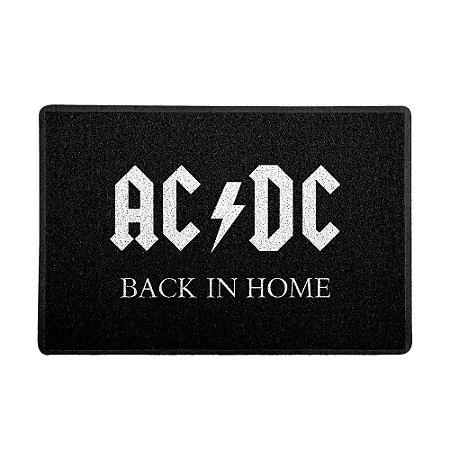 Capacho 60x40cm AC/DC Back in home - Beek