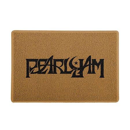Capacho 60x40cm Pearl Jam Marrom - Beek