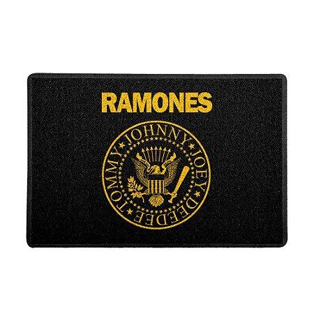 Capacho 60x40cm Ramones Logo - Beek