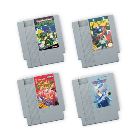 Porta Copos de acrílico Fitas NES Kit 02 - Beek
