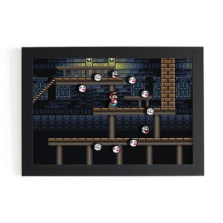Quadro 3D Super Mario Fantasmas - Beek