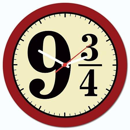 Relógio de Parede Beek 9 3/4 - VERMELHO