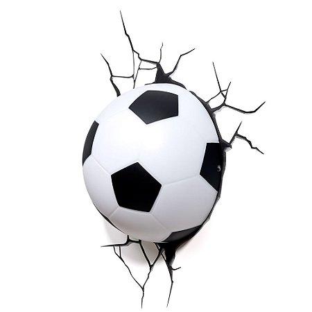 Luminária 3D Light FX Bola de Futebol
