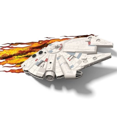 Luminária 3D Light FX Star Wars Millennium Falcon