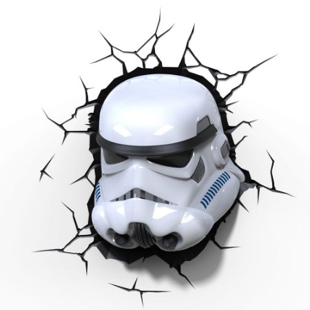 Luminária 3D Light FX Star Wars Stormtrooper