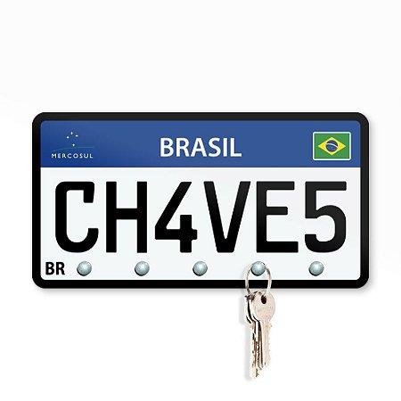 Porta Chaves 21x11 - Placa Ch4v3s