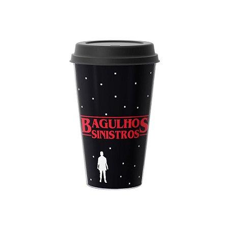 Copo Café 500ml - BAGULHOS SINISTROS Preto