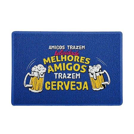 Capacho 60x40cm - MELHORES AMIGOS