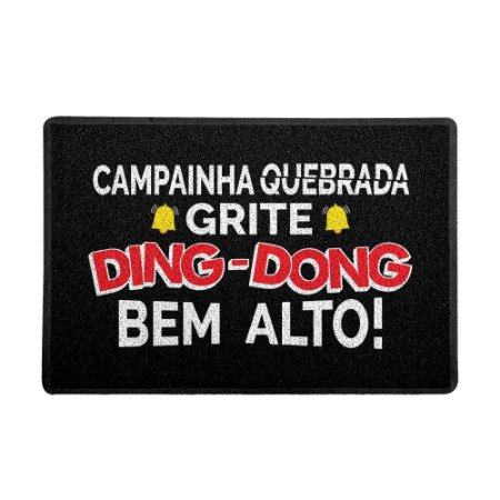 Capacho 60x40cm - DING DONG