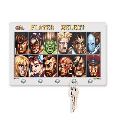 Porta Chaves 20x13 STREET FIGHTER - Player Select 8bit