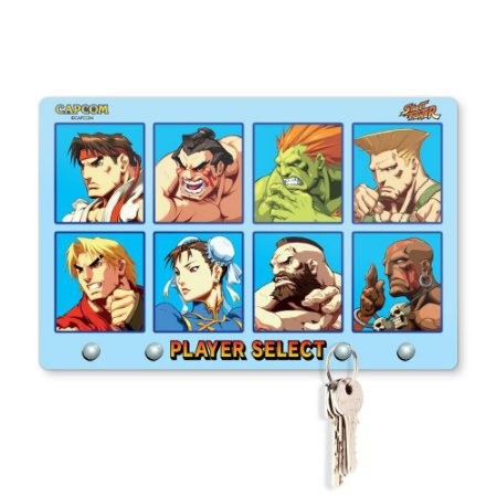 Porta Chaves 20x13 STREET FIGHTER - Player Select