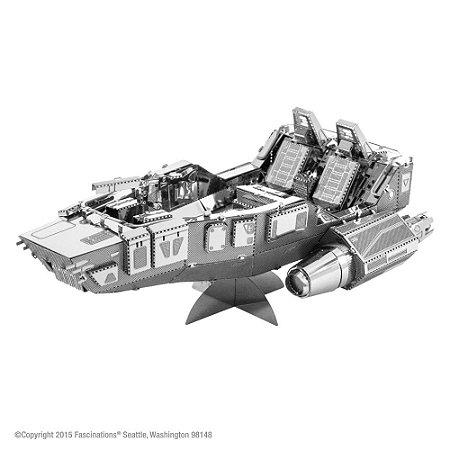 Mini Réplica de Montar STAR WARS First Order Snowspeeder