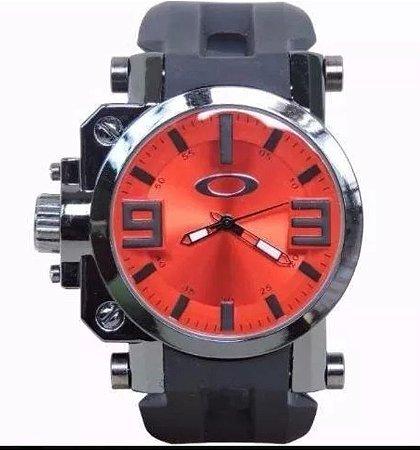 b1159a40eb4 Relógio Oakley Gearbox Titânio + caixa personalizada - Acessórios Fênix