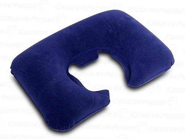 Travesseiro de Pescoço Inflável