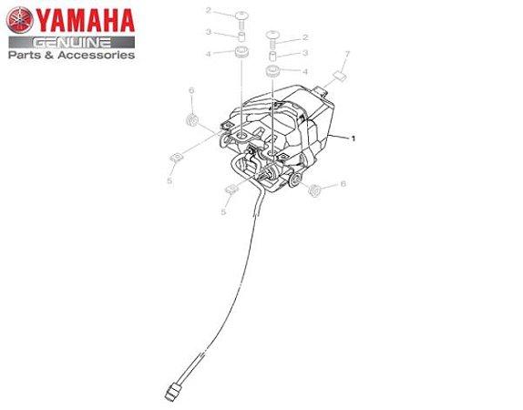 LANTERNA TRASEIRA CONJUNTO PARA MT-03 E YZF-R3 ORIGINAL YAMAHA