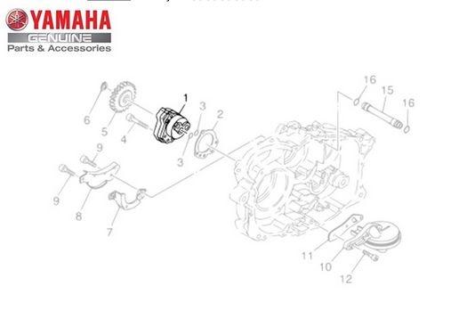 Bomba de Óleo Ténéré XT 660 Z Original Yamaha