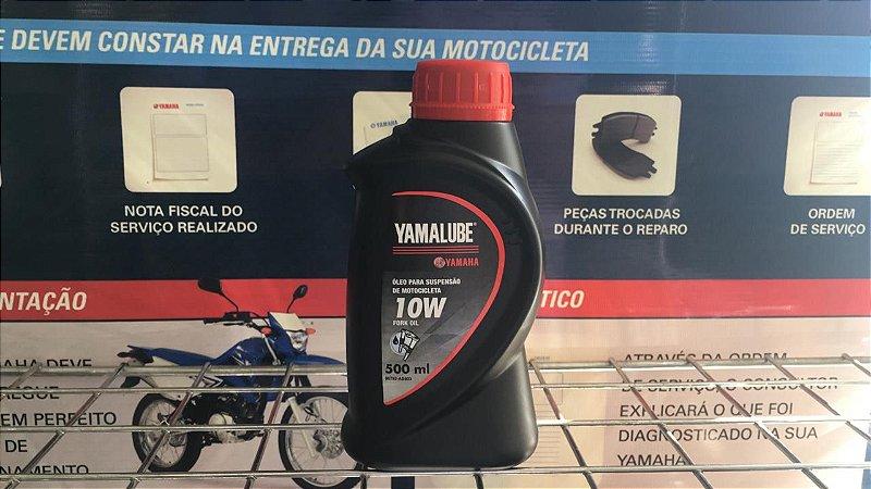 ÓLEO PARA SUSPENSÃO DE MOTOCICLETAS FORK OIL 10W YAMALUBE 500ML