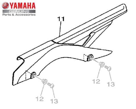 CAPA DE CORRENTE PARA MT-03 E YZF R3 ORIGINAL YAMAHA