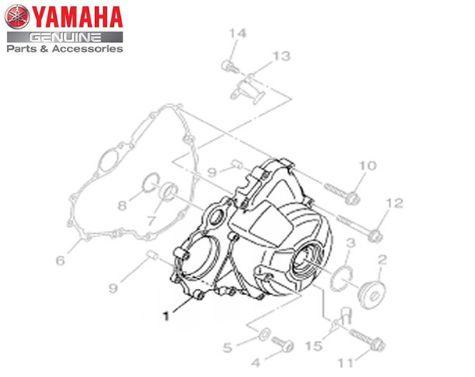 TAMPA ESQUERDA DA CARCAÇA DO MOTOR PARA MT09 E MT-09 TRACER ORIGINAL YAMAHA