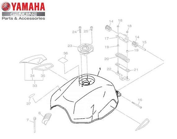 TANQUE DE COMBUSTIVEL PARA XJ6 F ORIGINAL YAMAHA