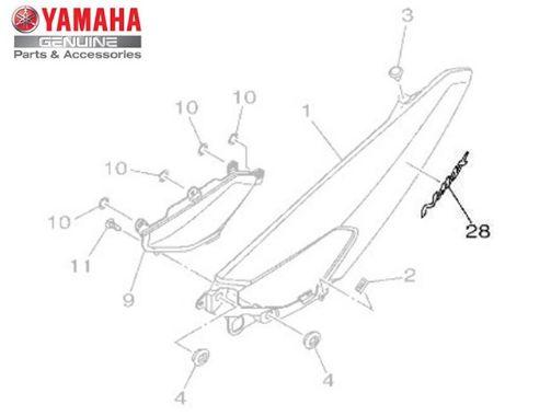 EMBLEMA 3D (NMAX) PARA NMAX 160 ATÉ 2020 ORIGINAL YAMAHA