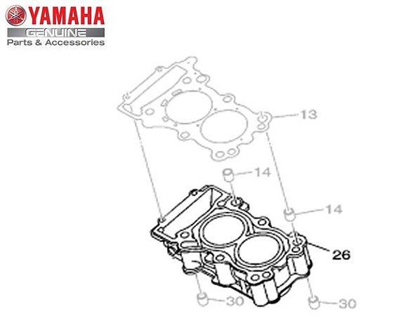CILINDRO DO MOTOR PARA MT-03 e YZF-R3 ORIGINAL YAMAHA