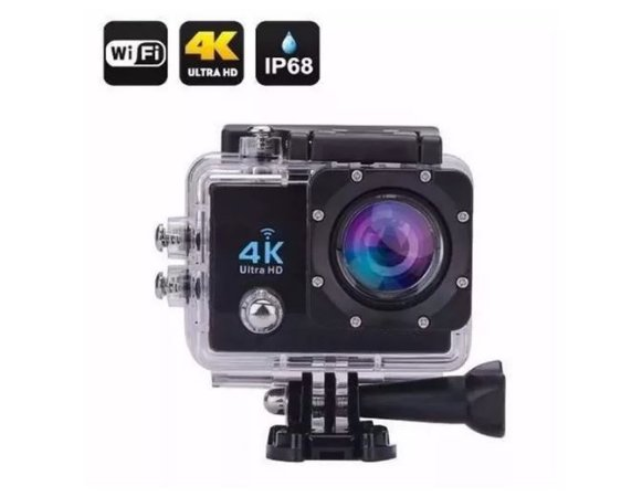 Câmera Esportiva 4k - A prova d água