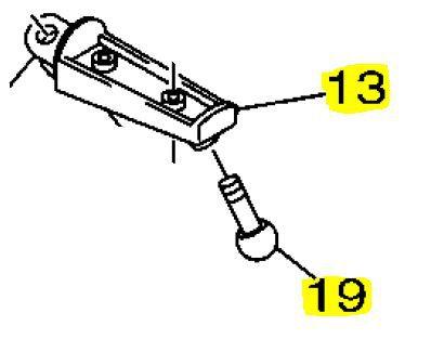 Pedaleira Dianteira Esquerda XJ-6 N