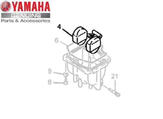 BOIA DE CARBURADOR PARA XT600E ORIGINAL YAMAHA