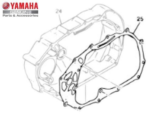 GAXETA ( JUNTA ) TAMPA DIREITA DO MOTOR XVS650 DRAG STAR E XV535 VIRAGO ORIGINAL YAMAHA