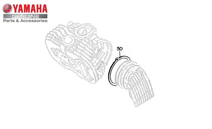 GAXETA ( JUNTA ) DA TAMPA DO COMANDO DA XV 535 VIRAGO ORIGINAL YAMAHA