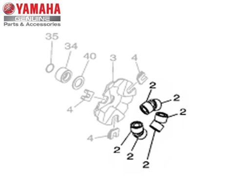 CONTRAPESO ( ROLETE ) DA EMBREAGEM PARA NEO 125 ORIGINAL YAMAHA