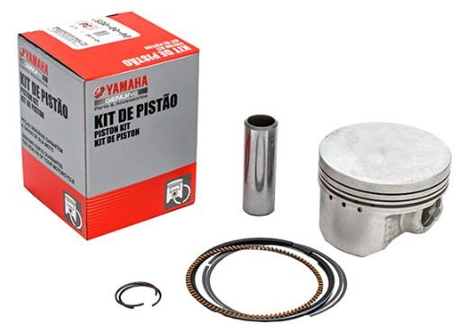 KIT DO PISTÃO (STD , 0,25MM , 050MM , 0,75MM , 1.00MM O/S) PARA YBR FACTOR 125 E XTZ 125 ORIGINAL YAMAHA