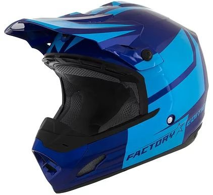 CAPACETE PRO TORK TH-1 FACTORY EDITION VARIAS CORES - LINHA CROSS ( OFF ROAD )