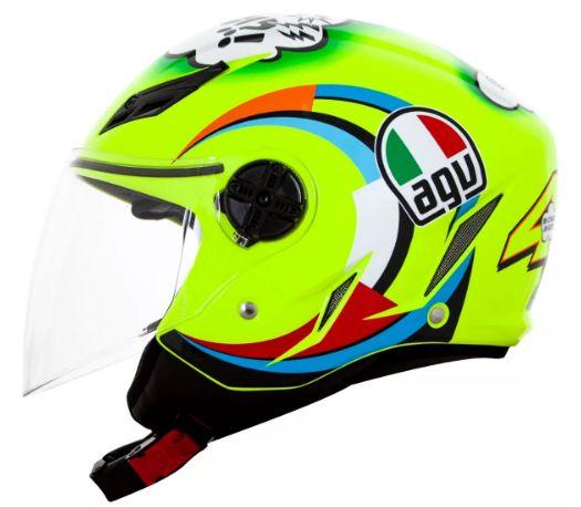 Capacete Agv Aberto Blade Misano 2011 Valentino Rossi Lancamento Eg Motor Sport Pecas Originais Para Sua Moto Yamaha