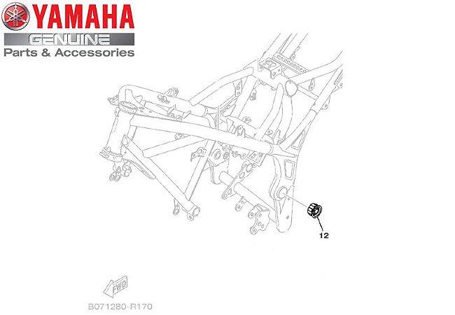TAMPA DO CHASSI PARA MT03 E YZF-R3 ORIGINAL YAMAHA