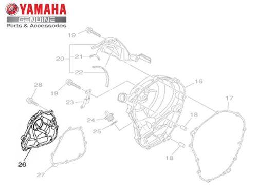 TAMPA DA BOMBA DE OLEO PARA MT-09 2015 A 2020 ORIGINAL YAMAHA